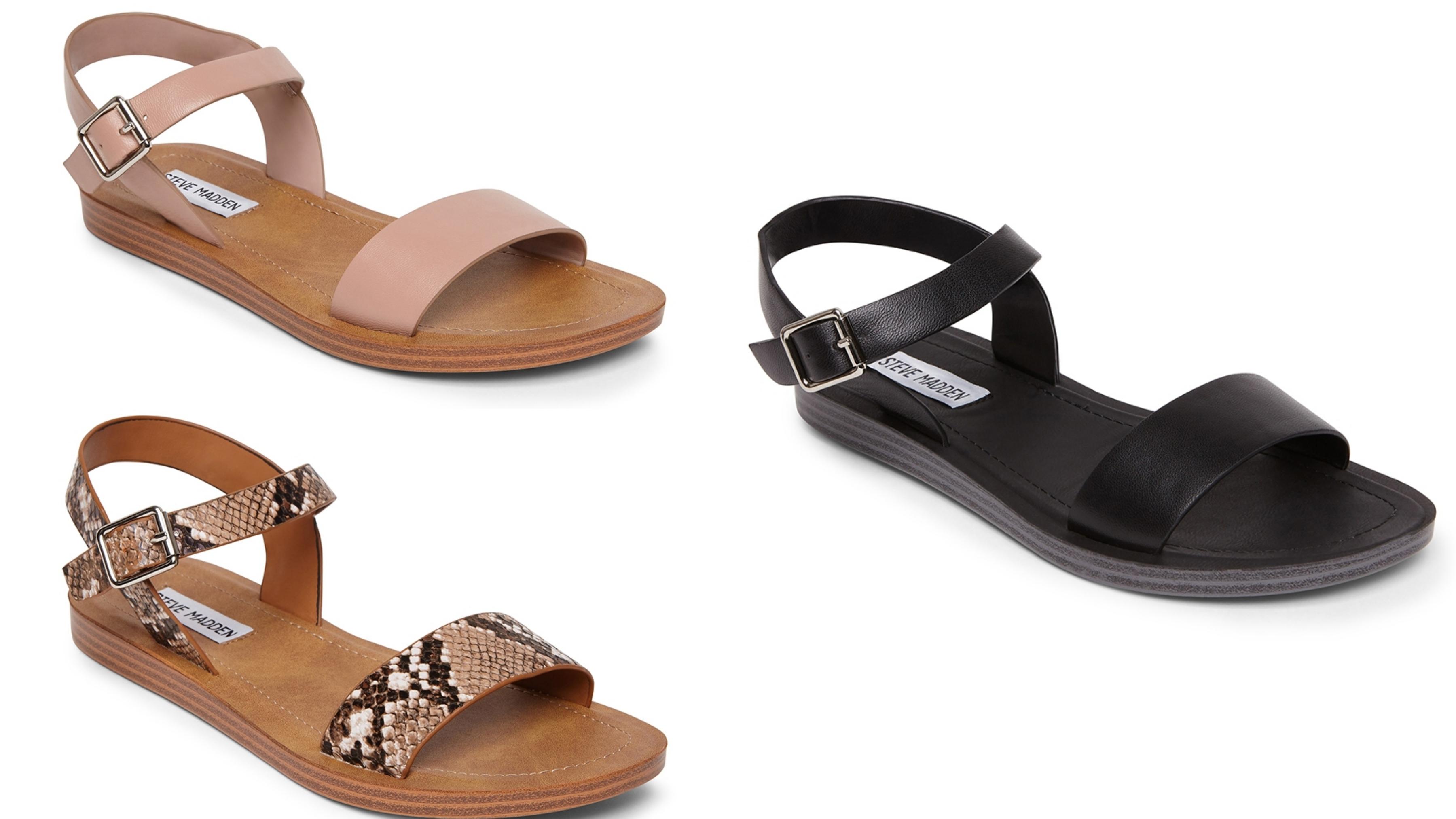 經典一字帶低跟涼鞋,不僅時尚有型又兼顧自在舒適