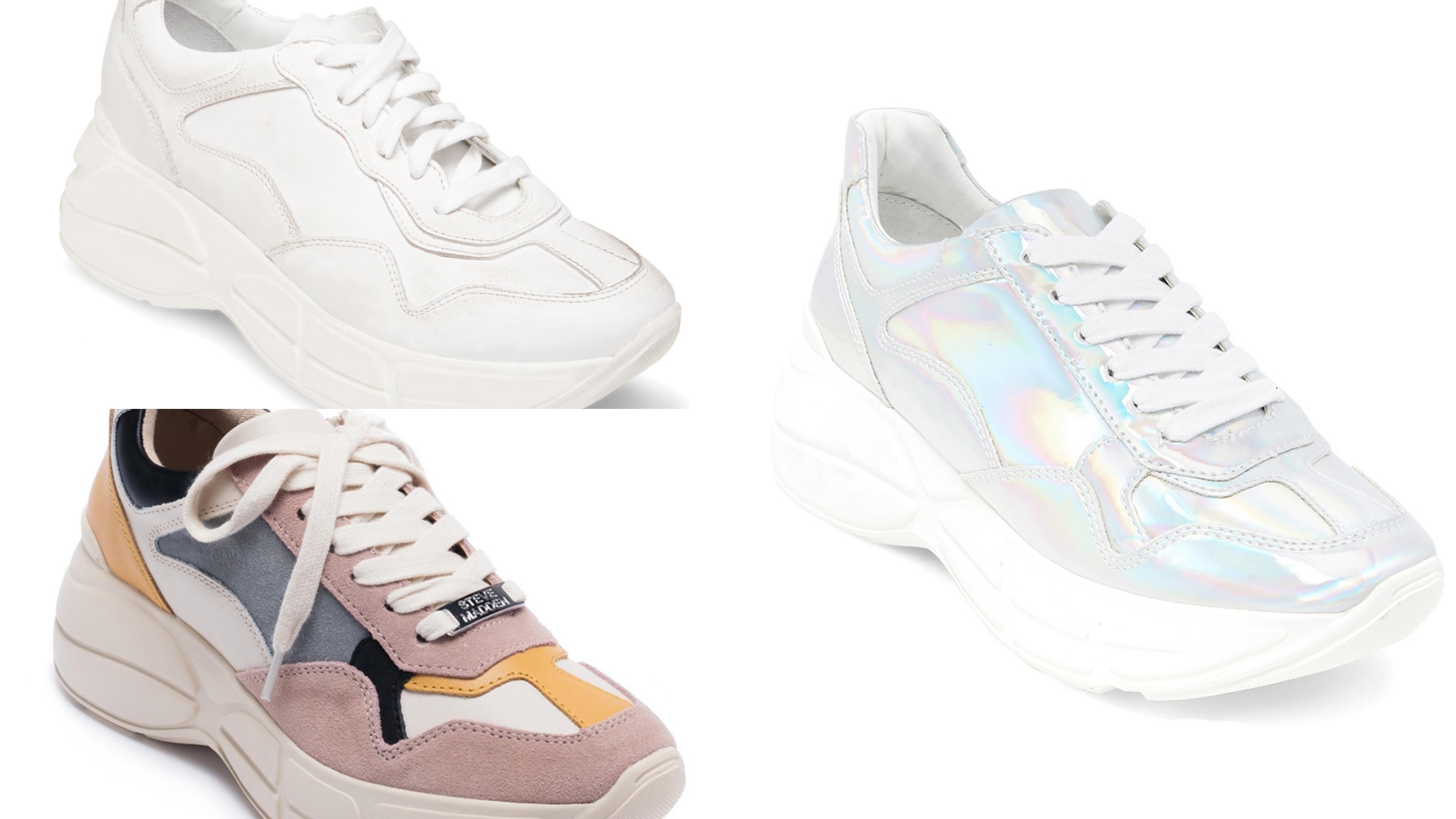 復古「老爹鞋」風潮,適合女孩的圓潤楦頭,獨家楦頭包覆性高修飾腳型
