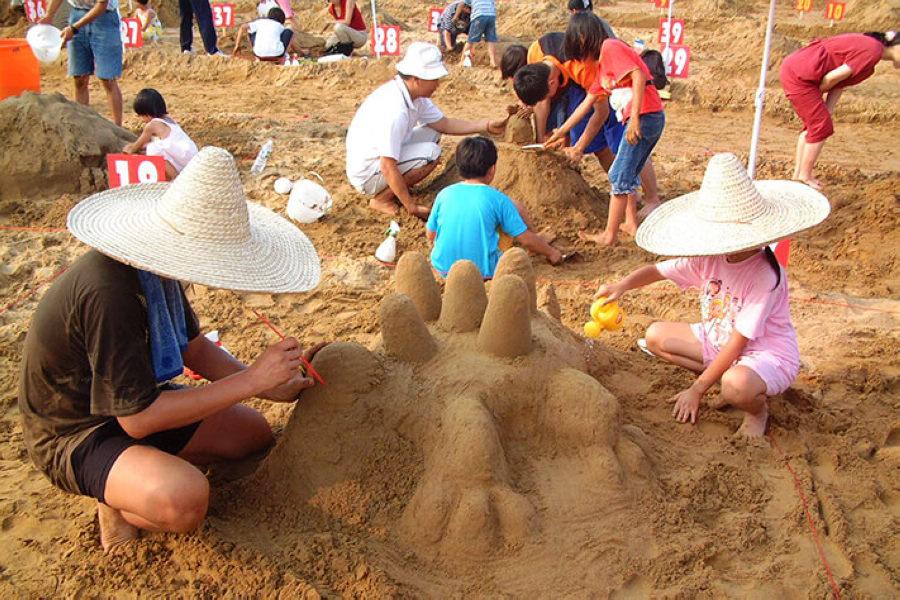 (圖片來源:2020福隆國際沙雕藝術季活動網站)