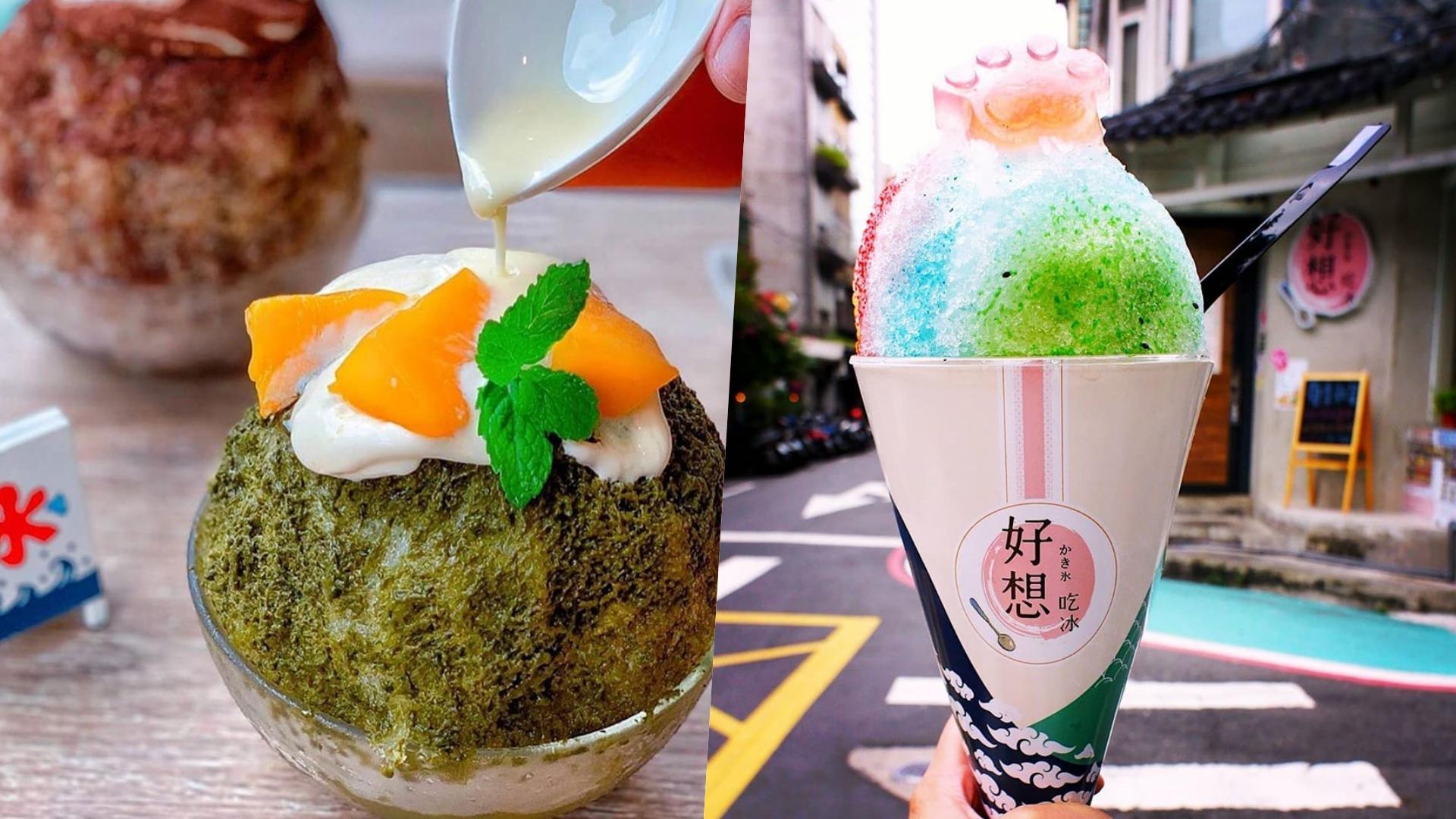 以日式刨冰在網路上爆紅,粉嫩的色系超好拍,店內風格也充滿清新的日式風格。