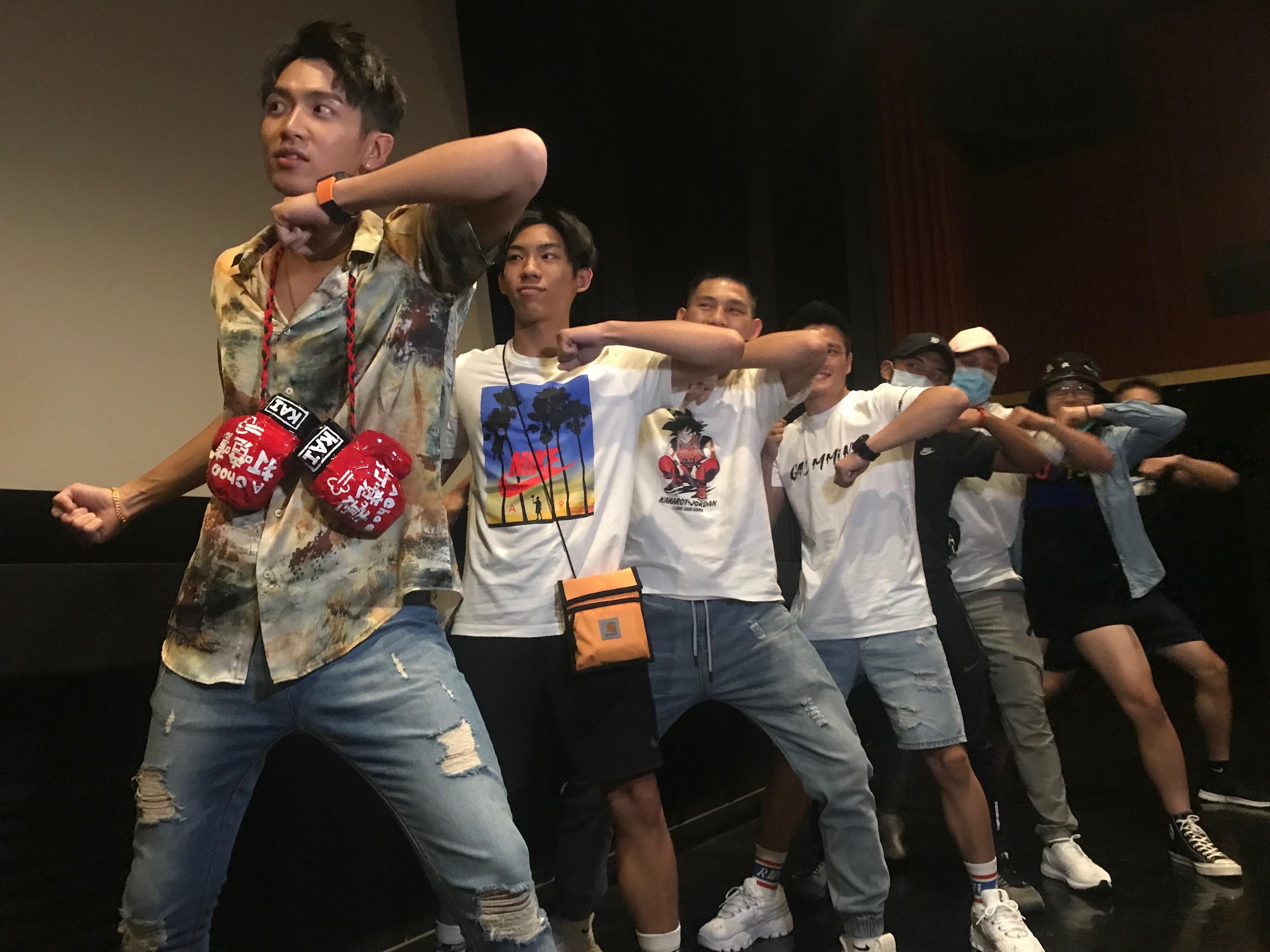《打噴嚏》高雄映後遇拳擊隊奧運代表求柯震東當師傅 (4) 照片由傳影互動提供
