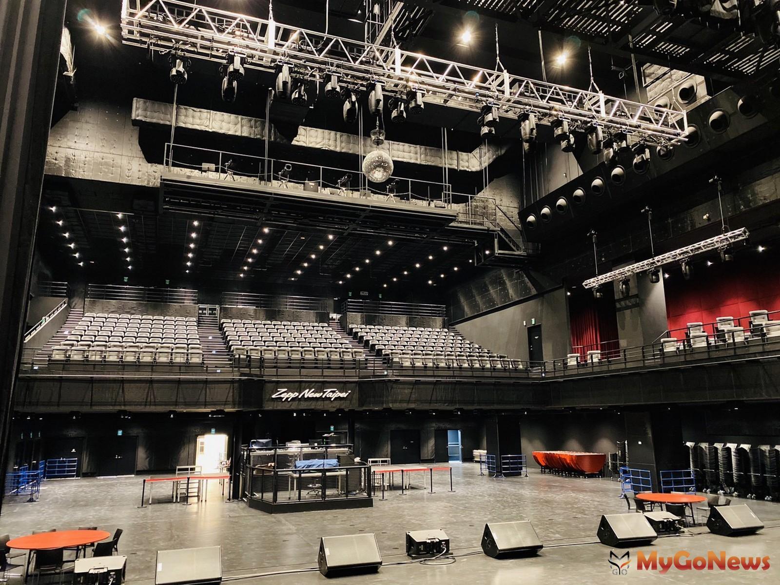 ▲日本Sony+Music集團Live+House品牌「Zepp+New+Taipei」搖滾廳,選擇宏匯廣場成為海外首個單獨據點(宏匯廣場提供)