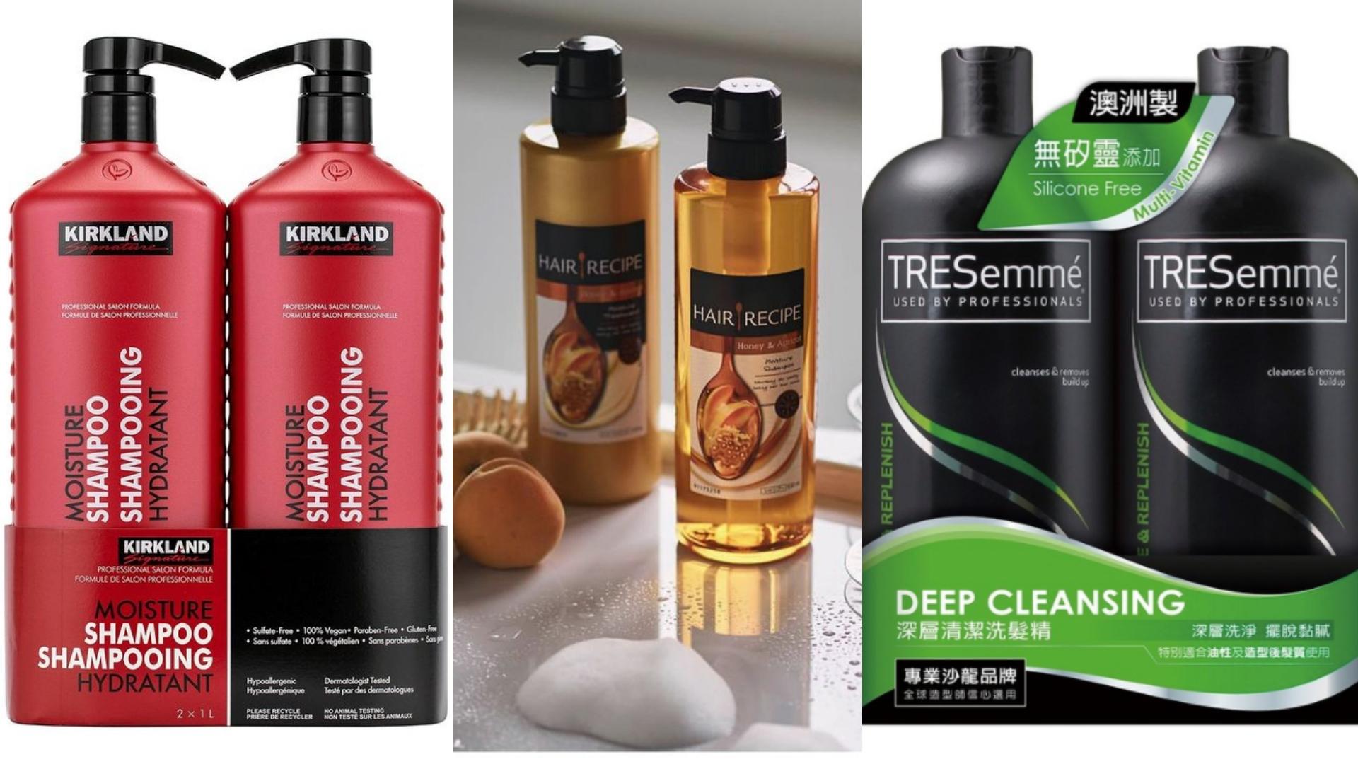 好市多的許多款洗髮精,都受到網友熱推,看到別忘了拿兩罐結帳!