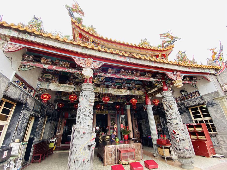 獅山古道勸化堂 (圖片來源:大興旅行社)