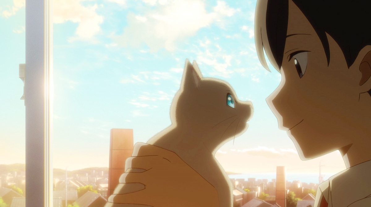 """「我要幫你,我要聽你說""""我愛你""""」美代變成貓時,對日之初說了這句心裡話。"""