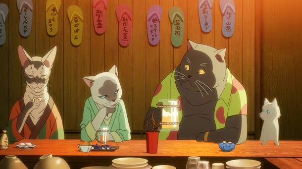 電影中的貓島為本片增添奇幻風格。