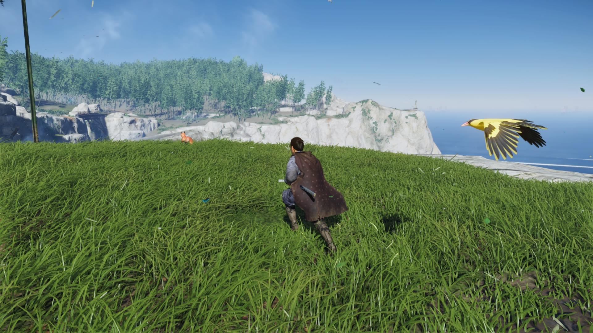 跟隨著這些動物,牠們將能帶你尋找到隱藏的珍寶也說不定。(圖源:PS4 Pro)