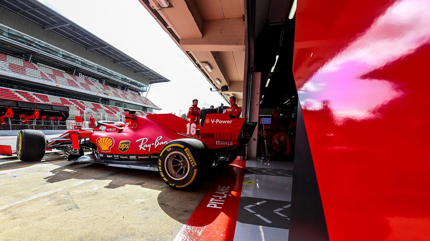 重大改版前Ferrari車隊於奧地利運行測試版賽車
