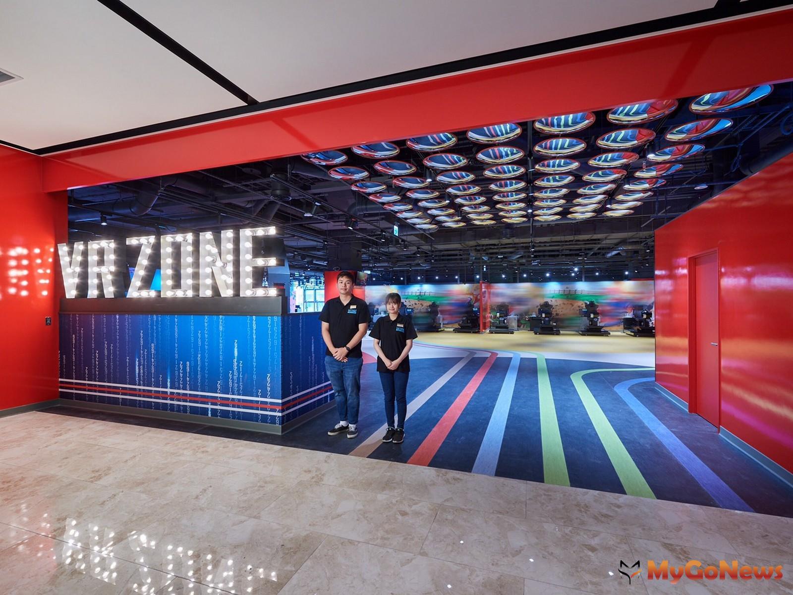▲日本最大VR+ZONE由宏匯廣場灣取得台灣獨家經營權(宏匯廣場提供)