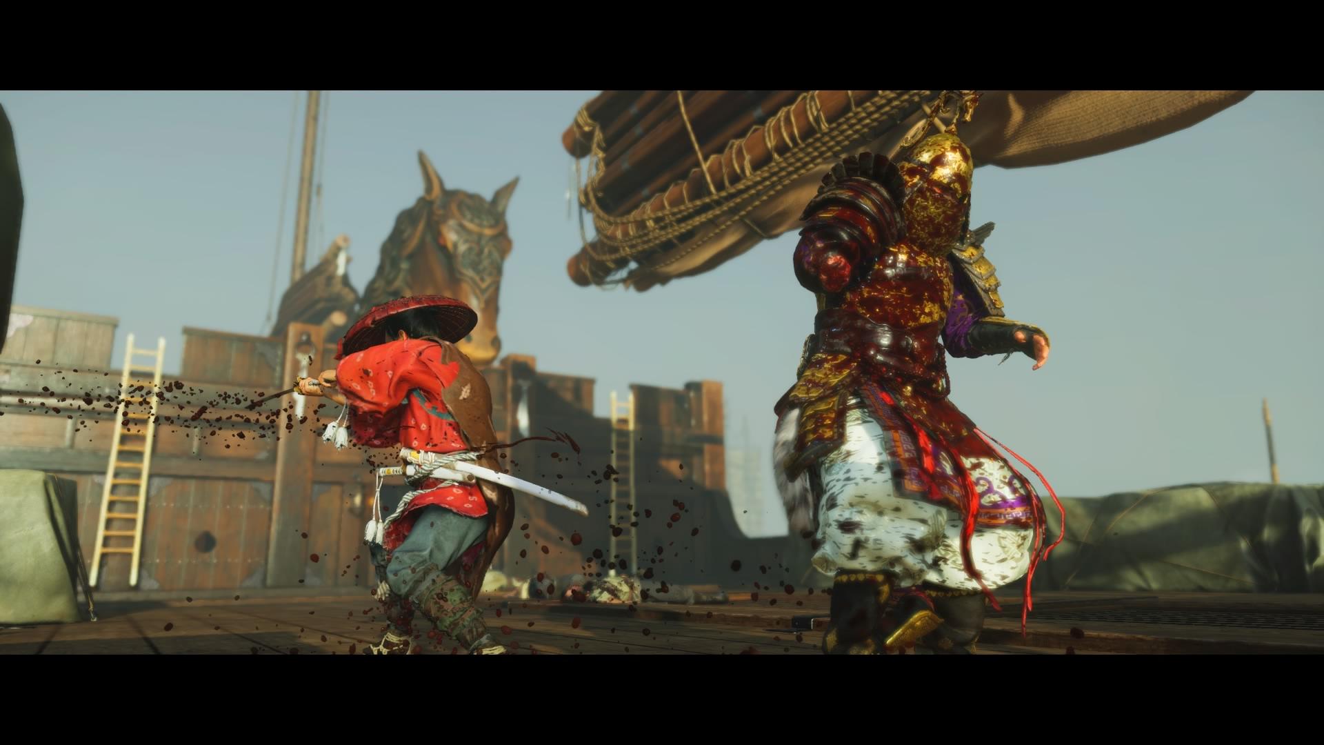 所有勝負都在刀光劍影之間,不論戰鬼還武士,時機正確只要1刀就能取對方性命。(圖源:PS4 Pro)
