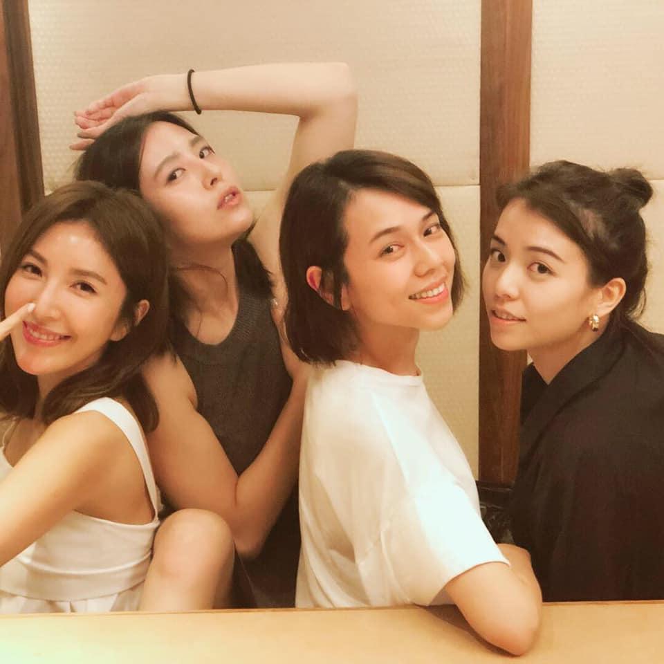 左起:楊謹華、劉品言、夏于喬、宋云樺