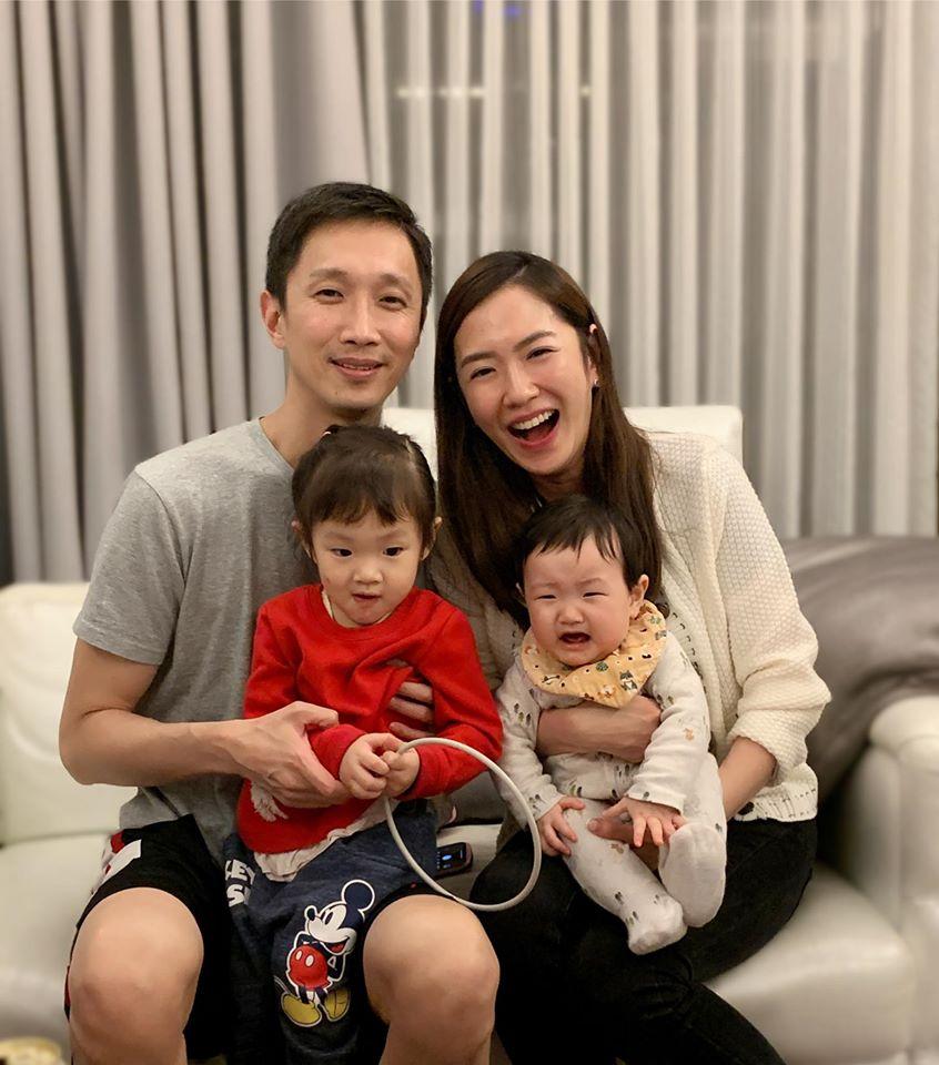 楊千霈婚後家庭生活幸福美滿