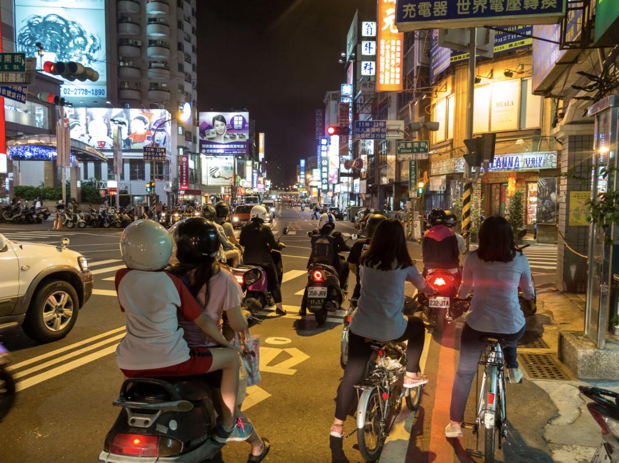 台南街景圖,圖片來源:GettyImages