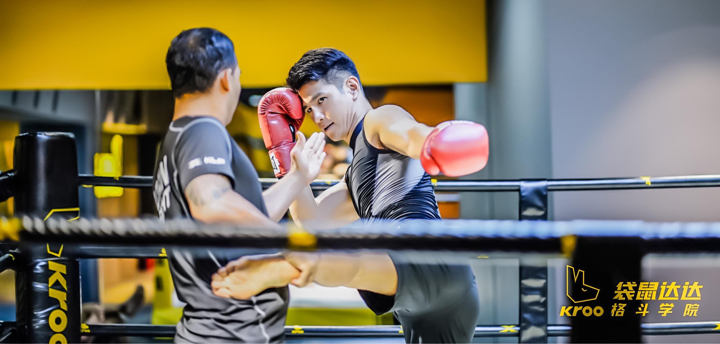 ▲拳擊與足球是祖雄最愛的運動項目。