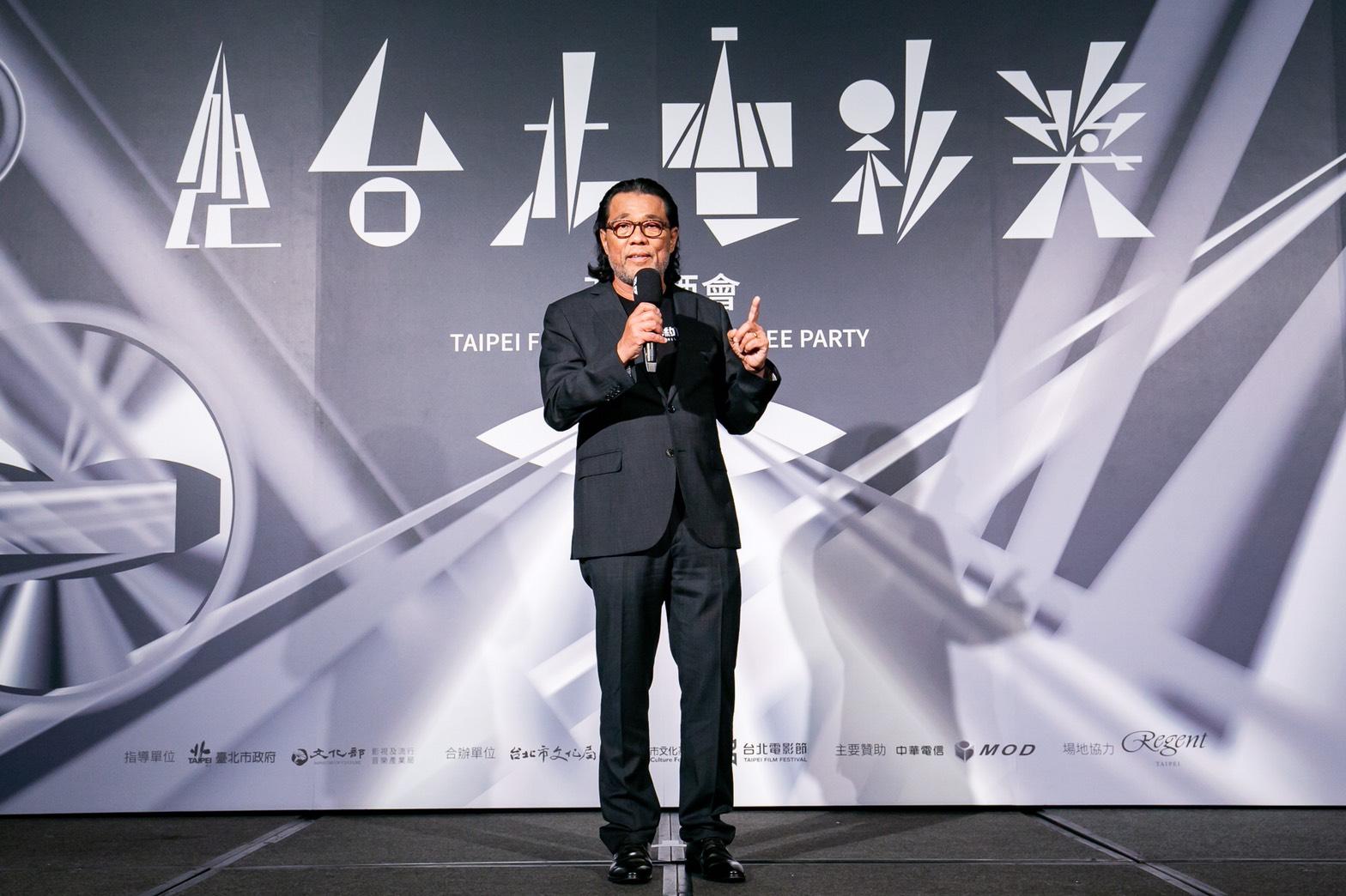 台北電影節主席李屏賓揭幕2020台北電影獎開幕酒會。