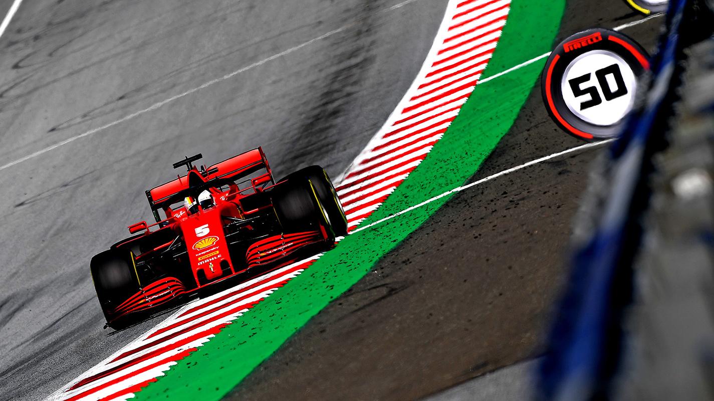 Vettel:升級後的SF1000感覺像是另一部車