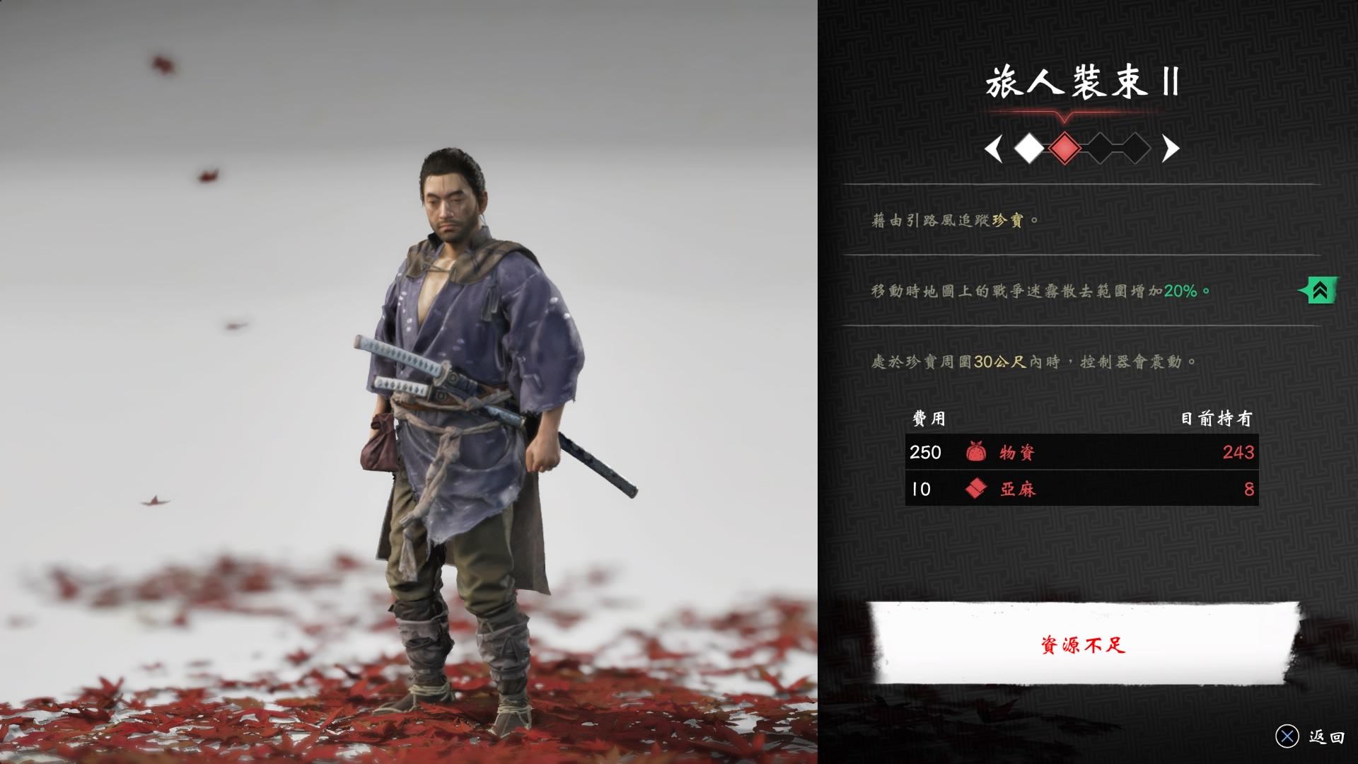 收集品類型的珍寶不會有地圖標記,只有玩家穿著特定服裝靠近時才會震動提示。(圖源:PS4 Pro)