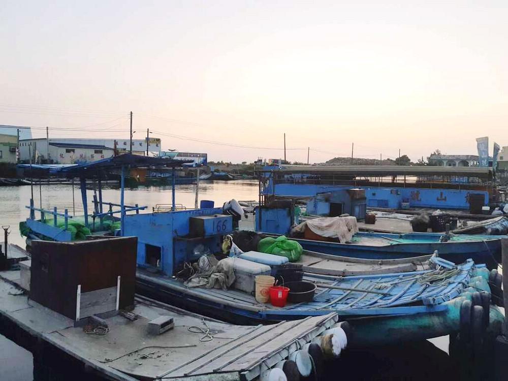龍山漁港(圖片來源:台南市政府)