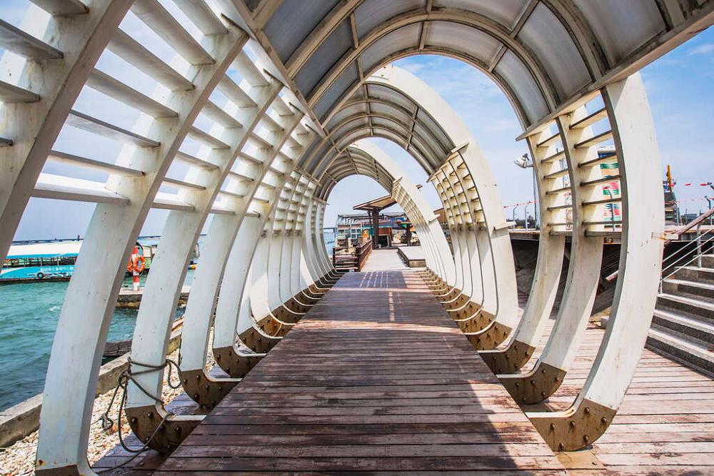 六孔碼頭(圖片來源:雲嘉南濱海國家風景區管理處)