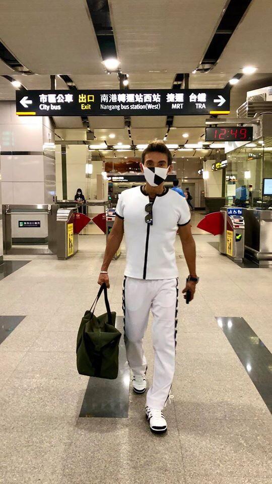 ▲潘若迪認為,防疫期間除了戴口罩保護自己,也要養成運動習慣,提高抵抗力。