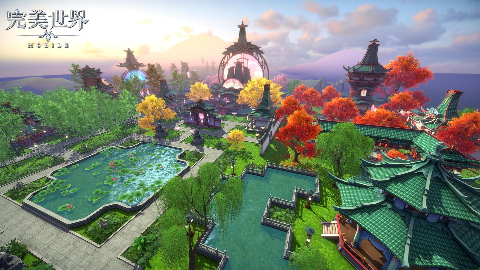 ▲遊戲還加入家園系統,讓玩家可以打造自己的家園,並且與人互動。