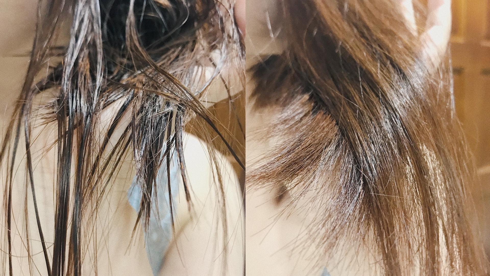 雖然吹髮過程容易有點糾結,但是吹完的光澤感很棒!