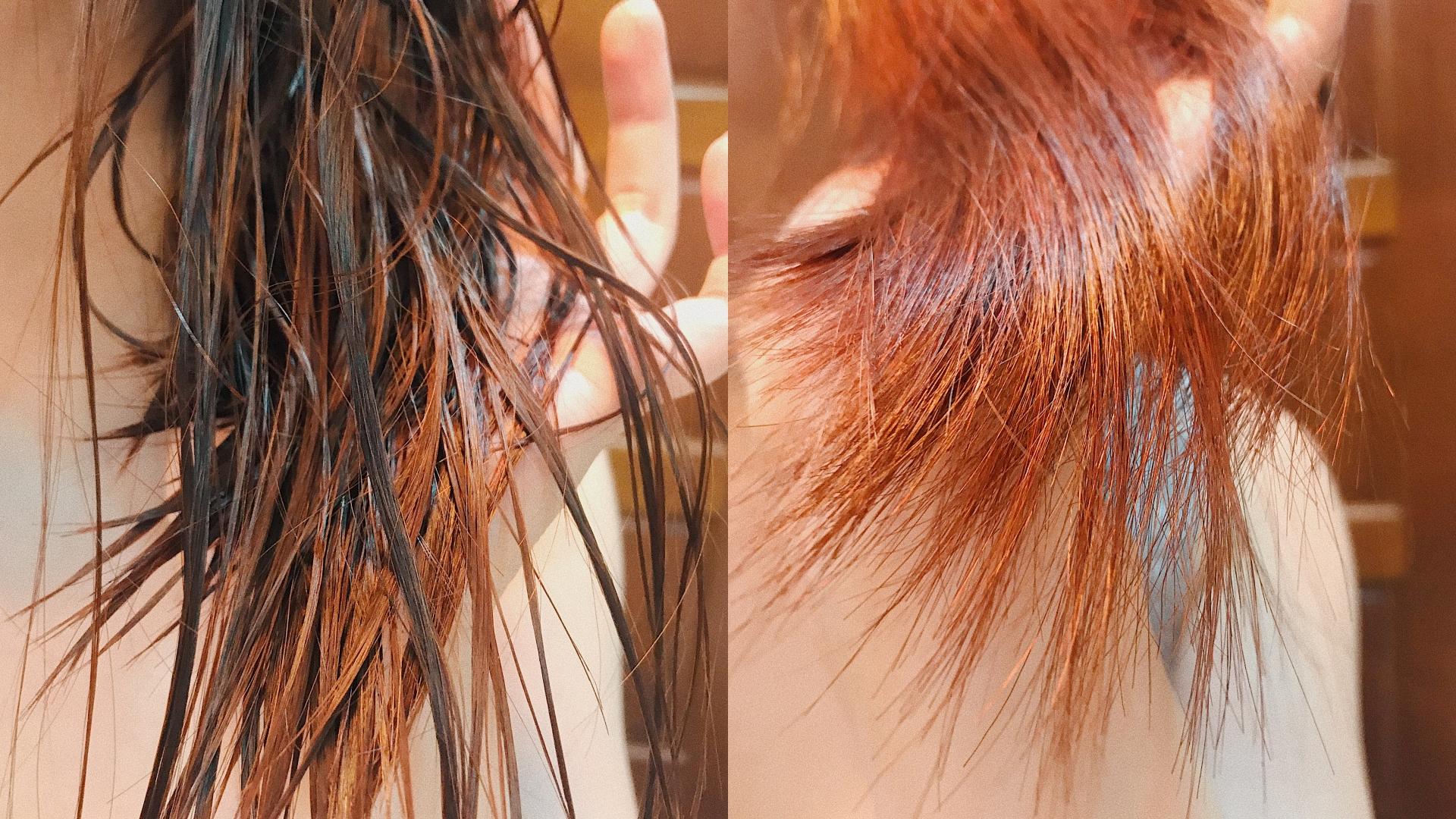 吹完之後髮尾的水潤光澤超有感!