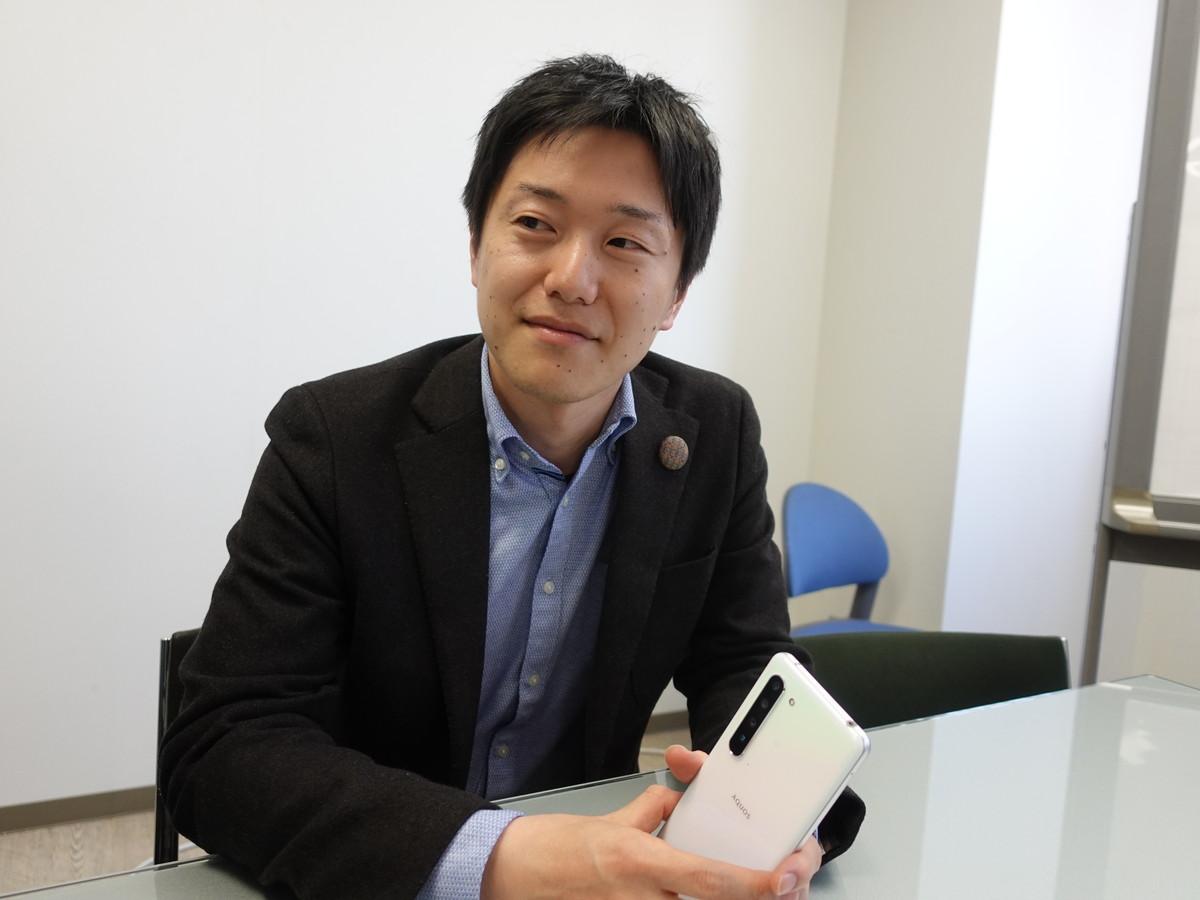 シャープ 田中陽平氏