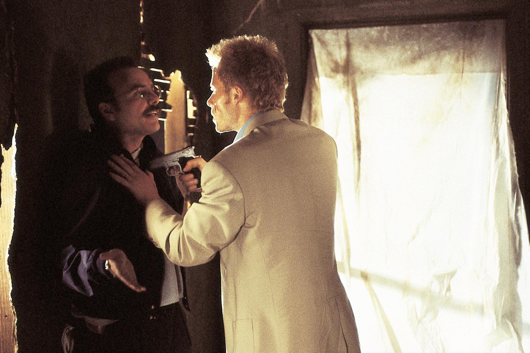 本片由蓋皮爾斯(右)、喬潘托利亞諾(左)等人領銜主演