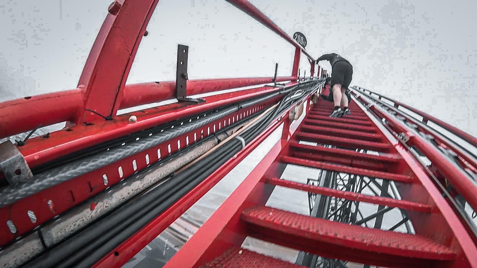 Rollercoaster trespass