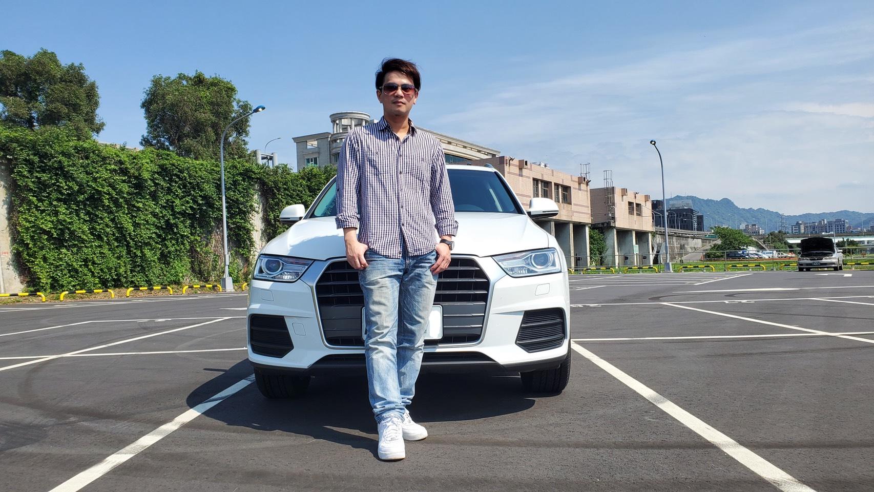 ▲為了家人,體育主播楊正磊挑選Audi Q3,作為家庭用車。