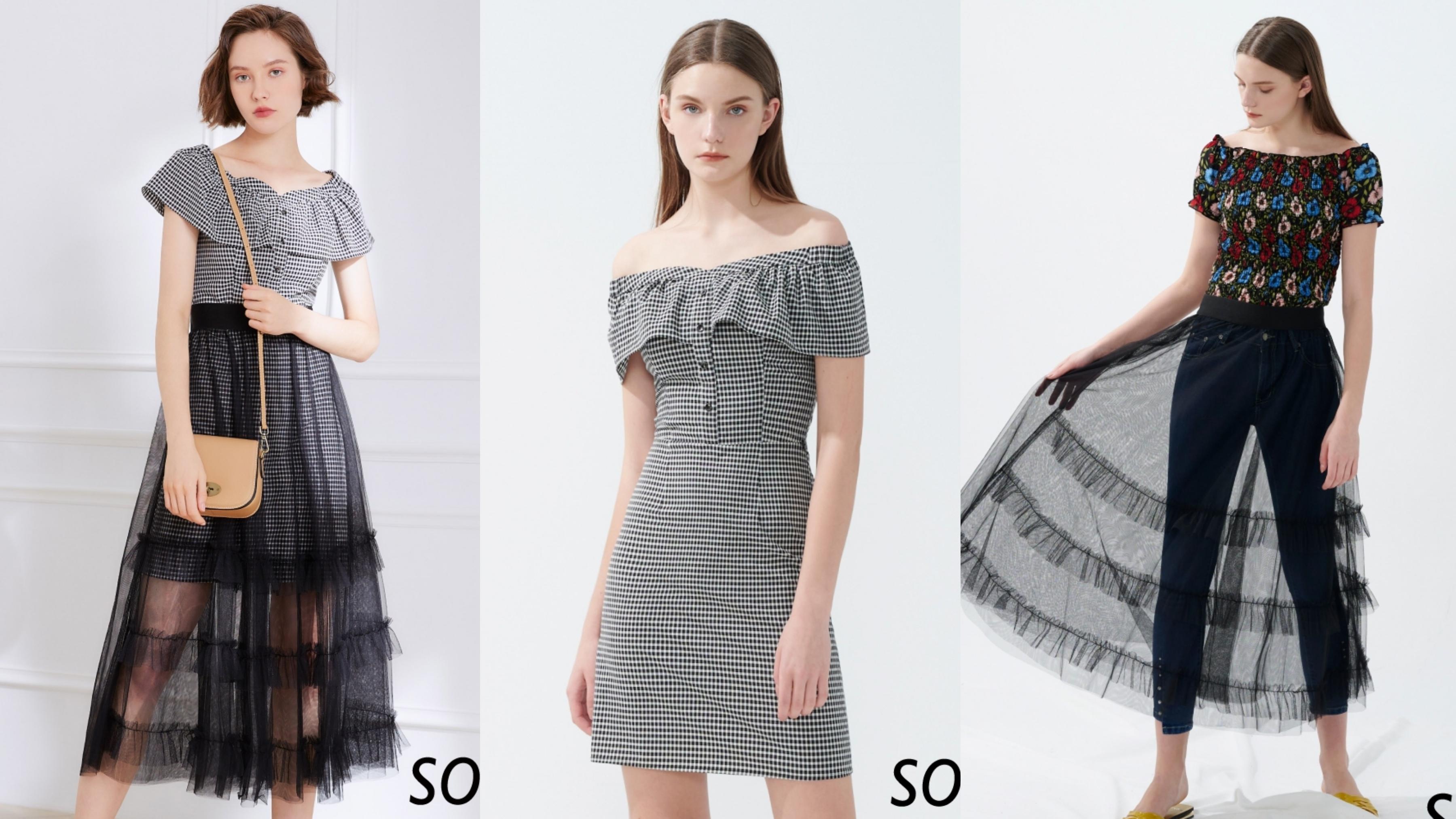 兩件式設計洋裝,可單穿可混搭,創造出多種穿法
