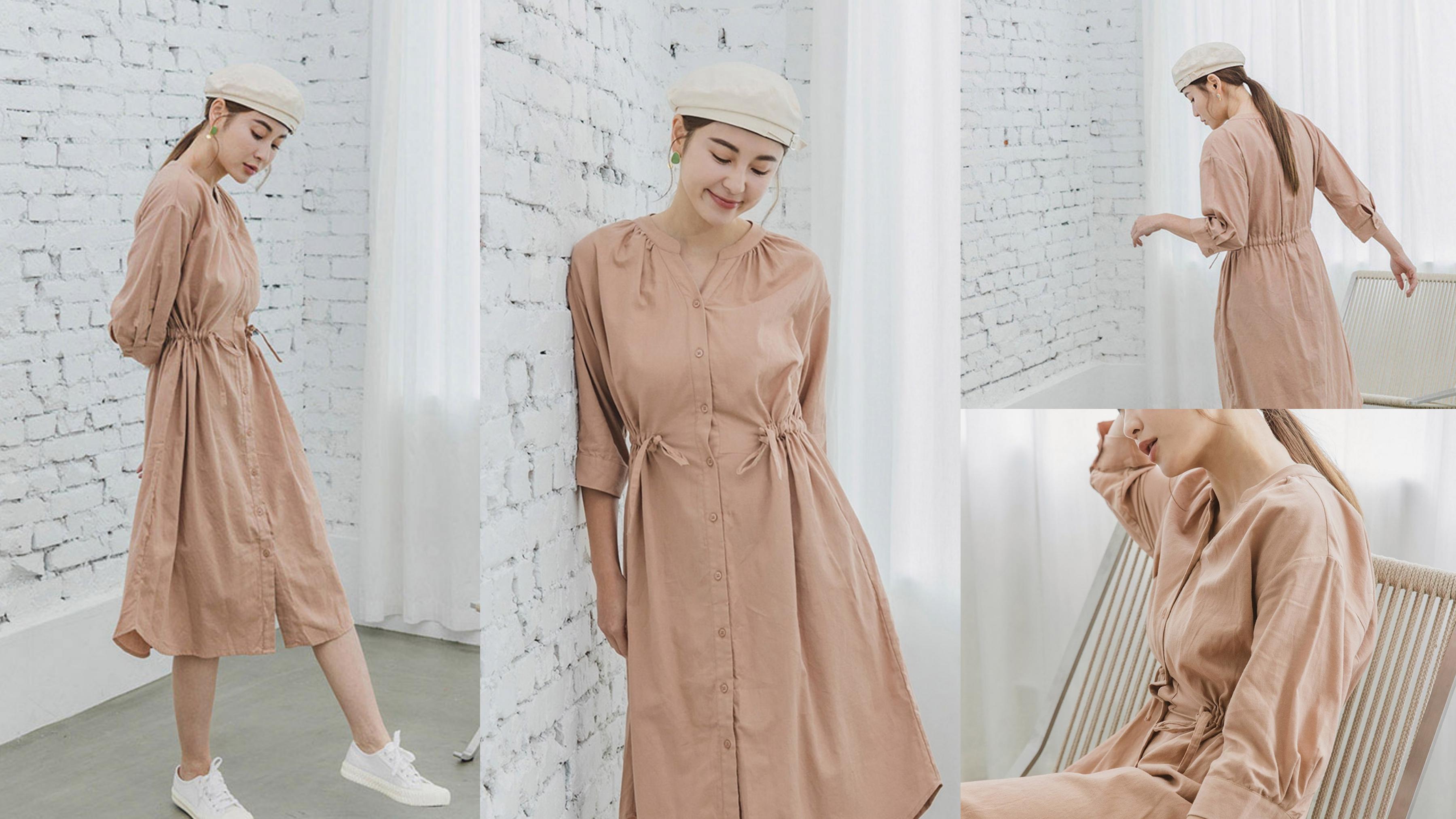 溫柔小姐姐專屬的奶茶色,穿起來就是迷人優雅
