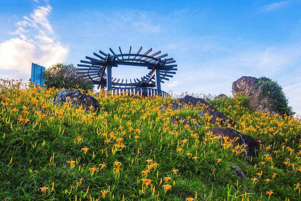 六十石山鹿蔥亭(圖片來源:花東縱谷國家風景區)