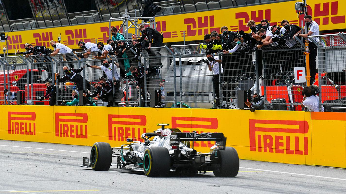 全面主宰戰局Hamilton贏得史泰利亞GP冠軍