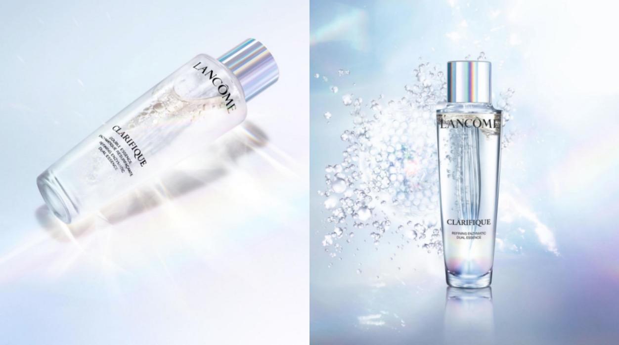 這瓶深受廣大網友喜愛,暱稱極光水,結合97%「激光酵素複合精華」+3%「植萃精油」,搭配獨家專利「極光仙女棒」搖晃瓶身就能產生新鮮精華微泡,每次使用前只需先上下搖晃即可,接著倒在化妝棉上,不需濕敷、只要輕輕擦拭過肌膚,使用後可接著擦拭精華液、乳霜等日常保養,這瓶的保養位置放在化妝水,但他是比一般化妝水更能養膚的水精華。