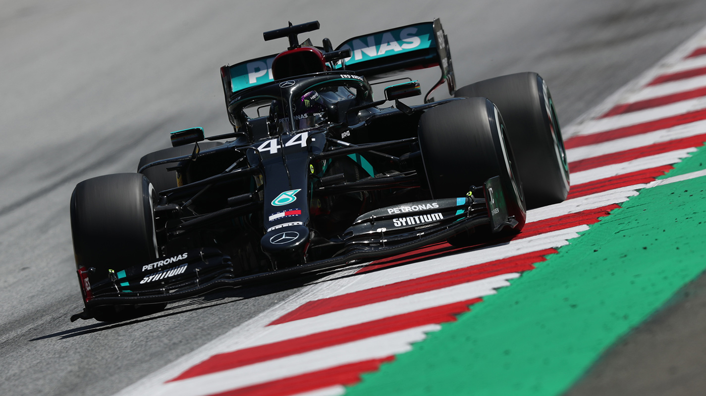 Hamilton在FP2苦苦掙扎Mercedes陷入黑暗