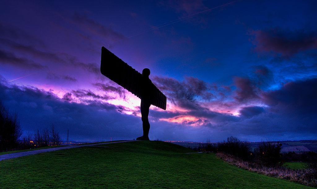 北方天使 (Photo by Wilka Hudson from Newcastle, UK, License: CC BY 2.0, 圖片來源www.flickr.com/photos/12653005@N05/3161413154)