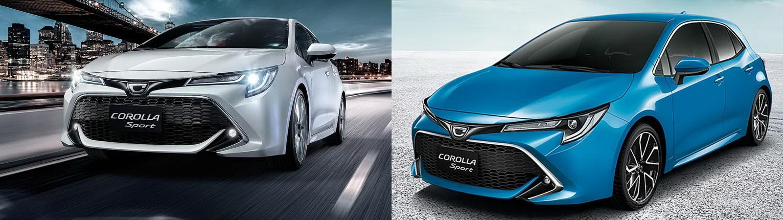 圖/2020 Toyota Corolla Sport 2.0尊爵版與旗艦版之超人氣運動房車對決。
