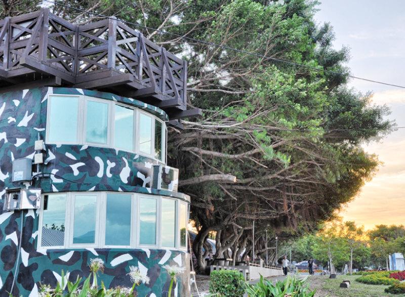 老榕碉堡(圖片來源:八里區公所)