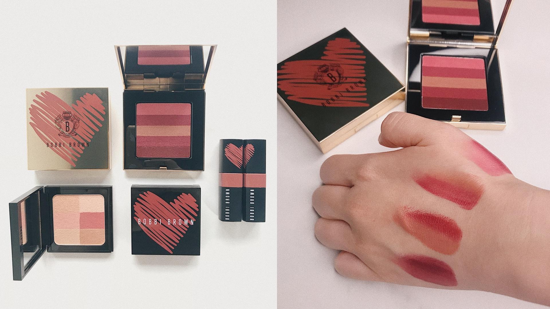 一盤擁有粉嫩、裸色、棕紅色,而且質地超級水潤有光澤。裡面還附贈攜帶式唇刷,讓你外出超方便補妝!