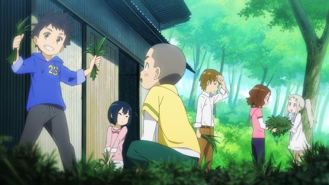 「超和平Busters」的6名少年少女們,因小時候所發生的事件而漸行漸遠