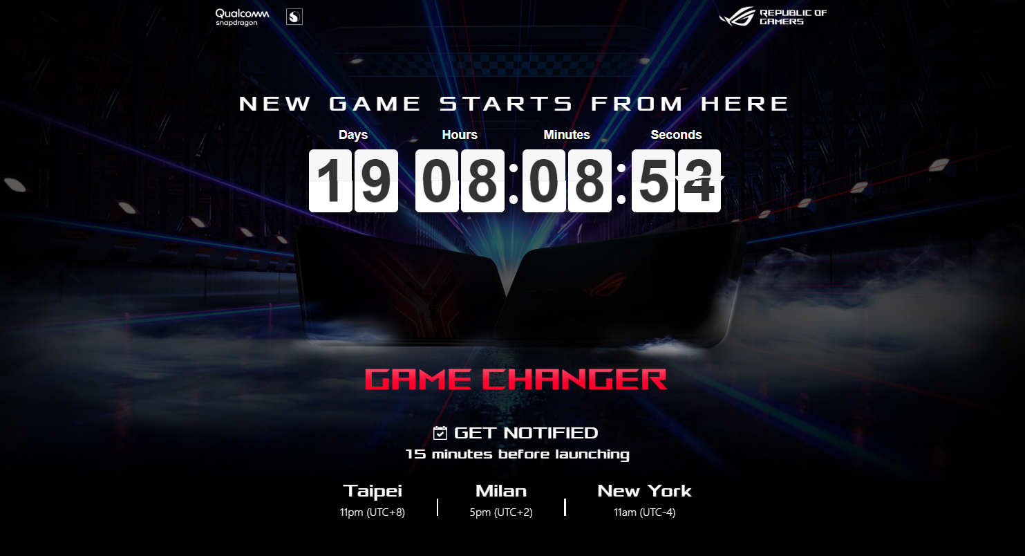 Photo of ROG Phone 3 was announced at 00:00 on July 23, Japan time. ASUS launches teaser site-Engadget Japan version