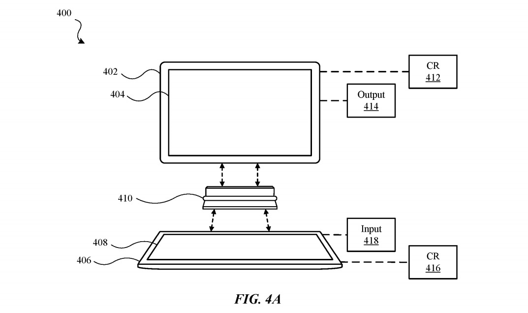 Photo of A hinged device that turns two iPads into a laptop? Apple patented-Engadget Japan version