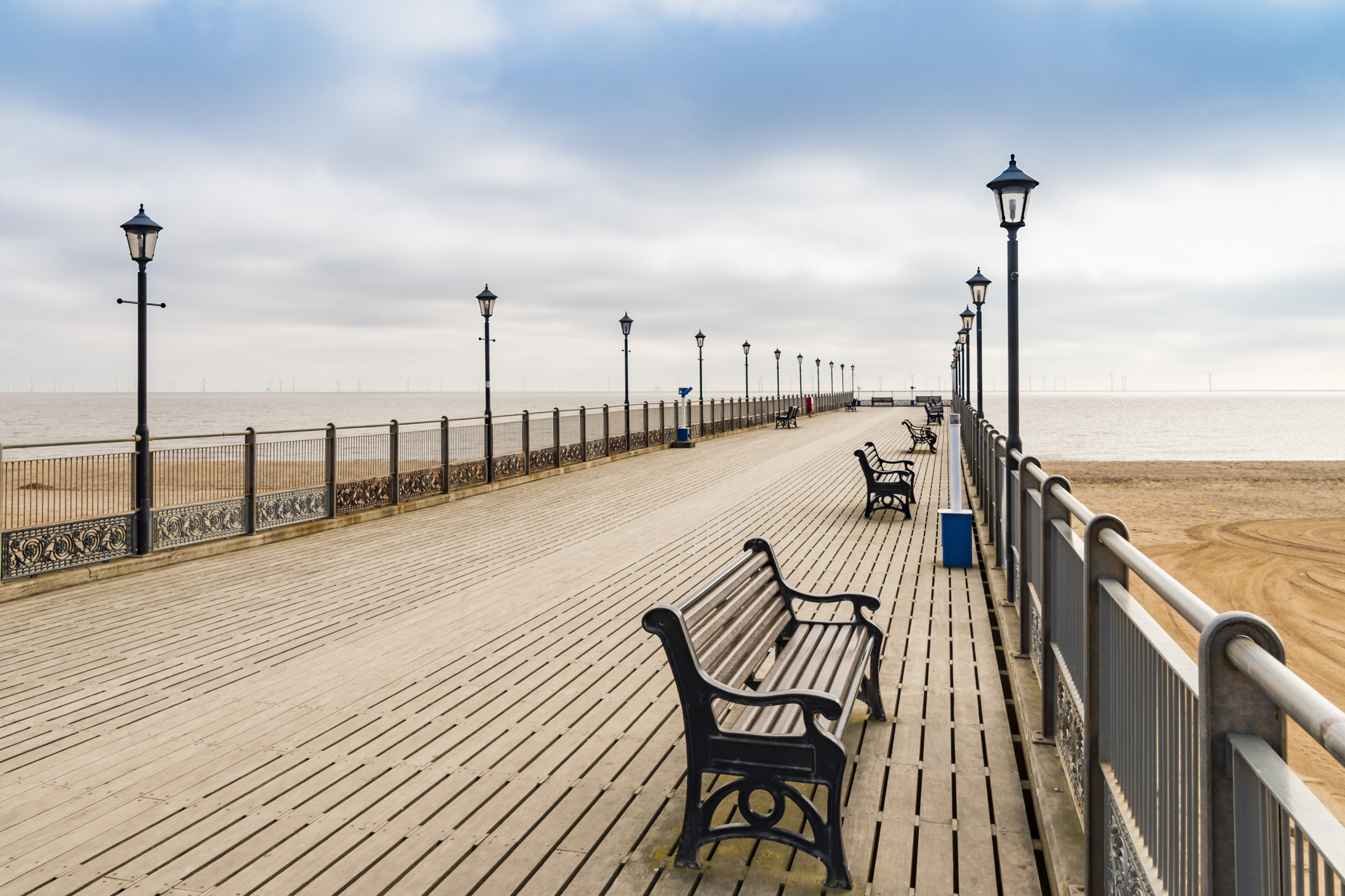 Skegness in Lincolnshire, came bottom of the list. (Getty Images)