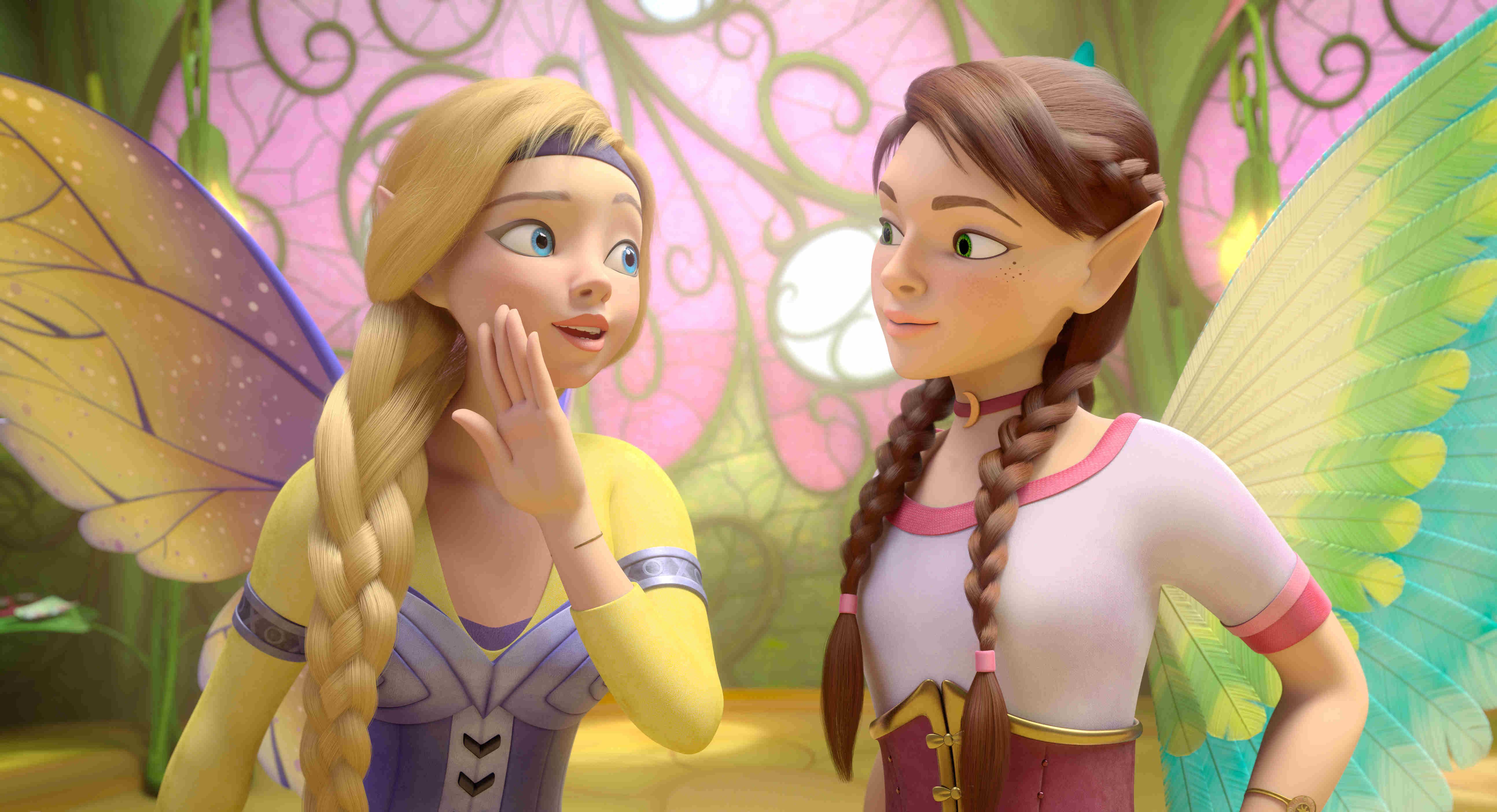 「太陽精靈」公主莎拉與蘇拉兩姊妹,極力搶救巴亞拉王國精靈們的魔法