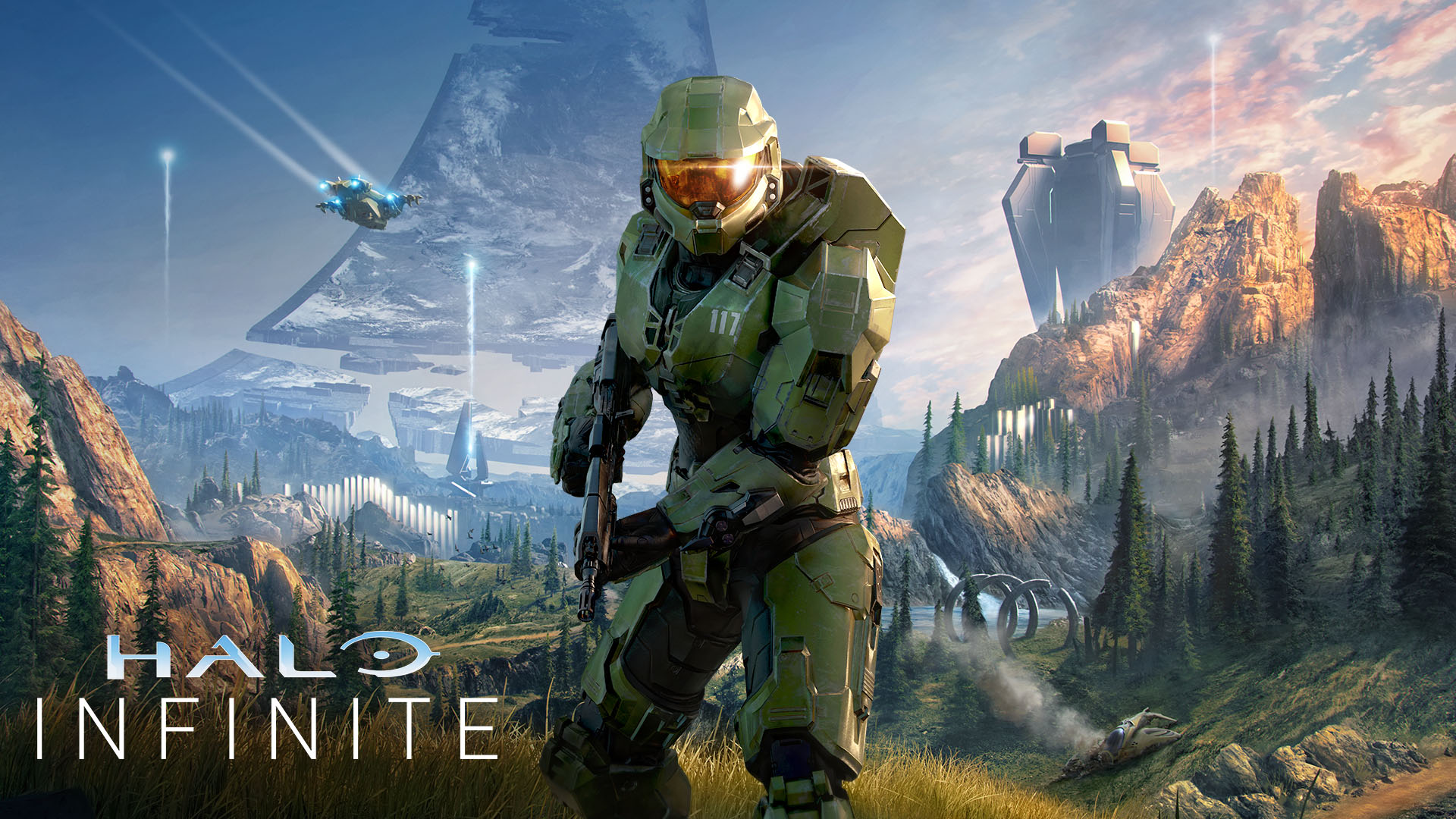 "Photo of Xbox / PC new work ""Halo Infinite"" play video released for the first time. Chief hooks for 3D mobility and high-speed combat-Engadget Japan"