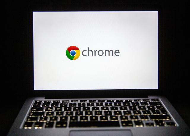ANKARA, TURKEY - FEBRUARY 18: The logo of Google Chrome is seen on laptop's screen in Ankara, Turkey on February 18, 2020. Ali Balikci / Anadolu Agency