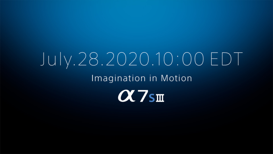 Sony Alpha7s III