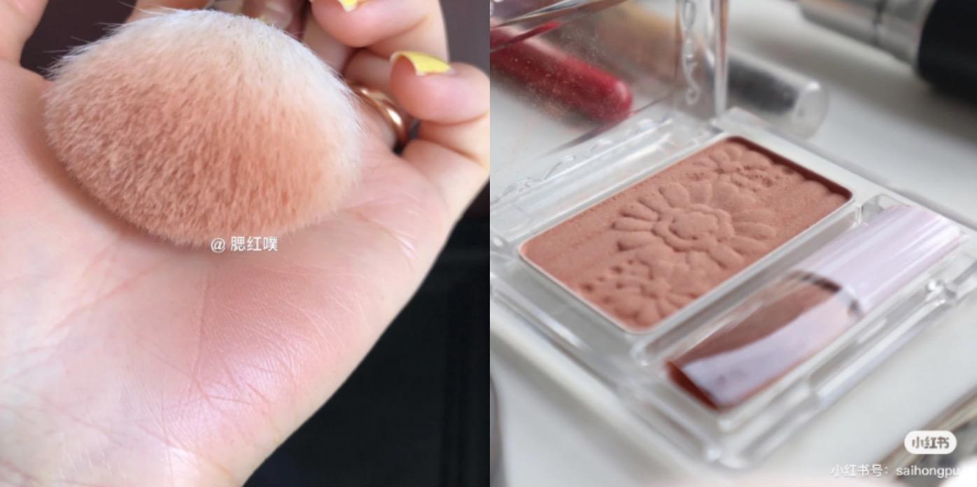 腮紅控必收的平價腮紅,這系列其他色號像是PW38、PW44也很受好評,這款裸調榛果奶茶色刷上臉非常顯高級,粉質細膩又很好暈染,是一款不會失敗的土色系腮紅。